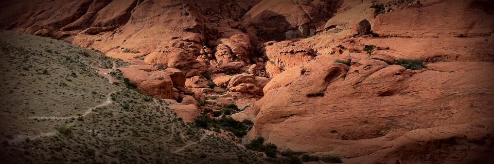 Redrock Nevada desert trial.