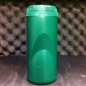 Recycled blue diamond nut container makes a great dry storage